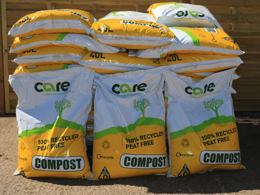 Care Compost - 50 x 40L Bags